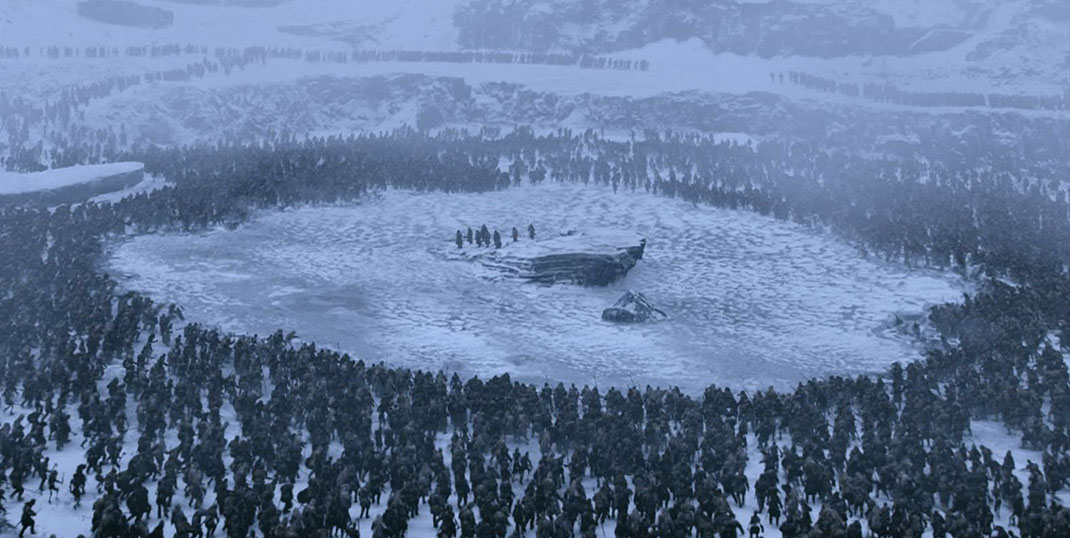 "Game of Thrones ""Frozen Lake"" (2017)"